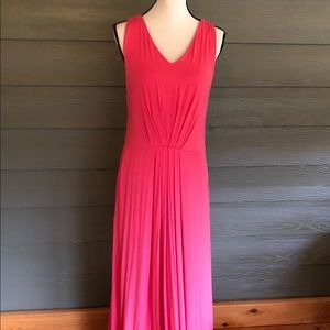 Cynthia Rowley Pink Solid Women's XL Maxi Dress